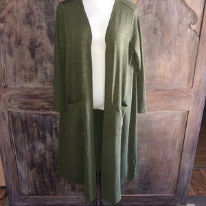 Lularoe Olive Green Sarah Sweater 🍂🍁